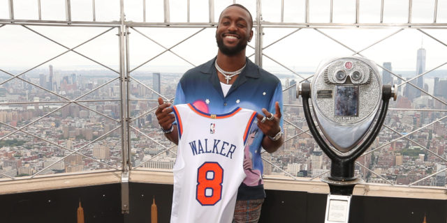 Walker's welcome: Kemba comes home to play for the Knicks