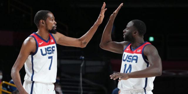 Kevin Durant, Draymond Green bury the 2018 Warriors hatchet