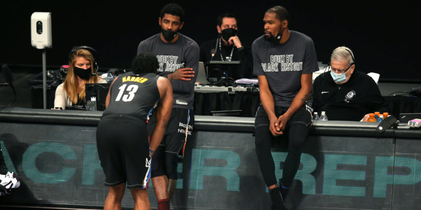 The Nets are ready to flex their muscles as NBA's alpha dog