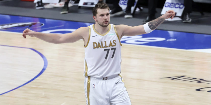 Luka Doncic doesn't take breaks in his quest for NBA title