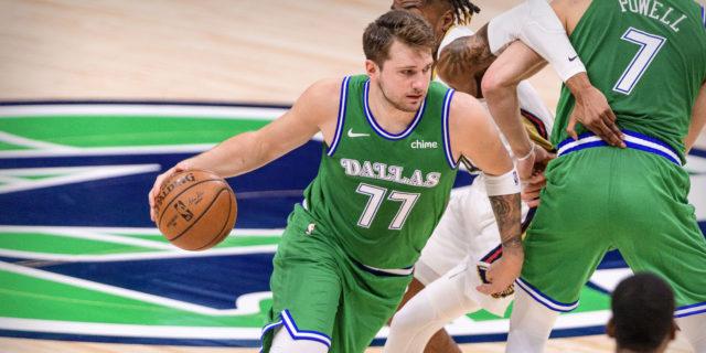 Superstar Secrets: Luka Doncic attacking the basket