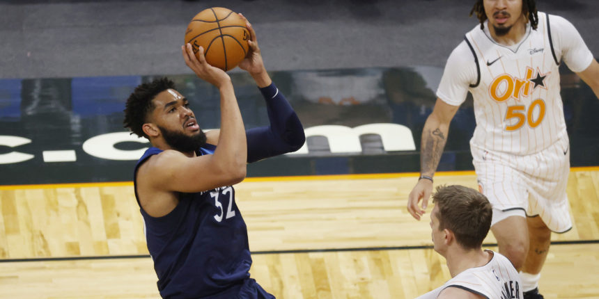 Karl-Anthony Towns lost 50 pounds while recovering from COVID-19
