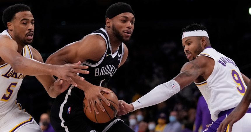 Nets beat Lakers as most stars sit in preseason opener