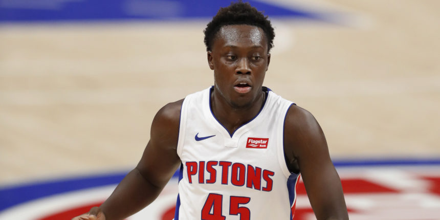 Sekou Doumbouya to sign two-way deal with Los Angeles Lakers