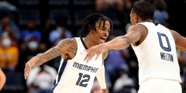 Grizzlies hope to continue growing with Morant, Jackson Jr.