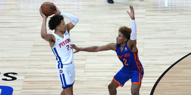Cade Cunningham ruled out for Pistons' opener with ankle injury