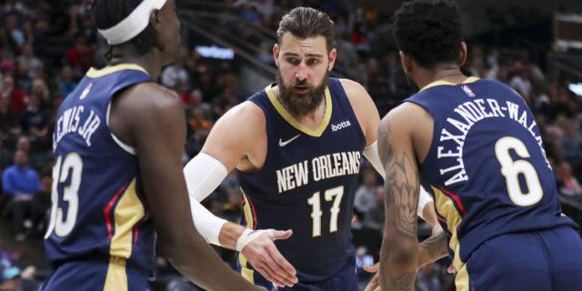 Pelicans center Jonas Valanciunas agrees to 2-year extension