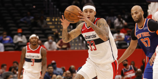 Does Kyle Kuzma have an axe to grind with the Lakers?