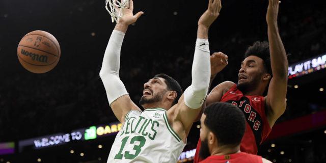 Celtics games pulled in China after Kanter describes leader as 'brutal dictator'