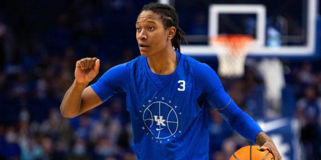 TyTy Washington shines at Kentucky Blue-White game