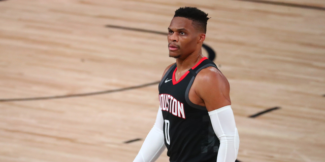 Rockets trade Russell Westbrook to Wizards for John Wall, first-rounder