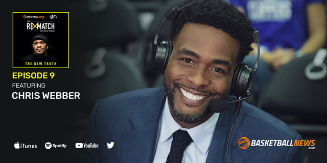 Chris Webber on his NBA career, move to broadcasting, Fab Five, more