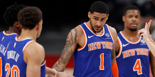 Knicks edge Pistons in low-scoring 90-84 contest