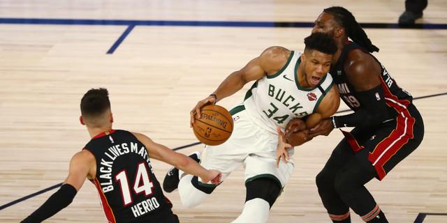 How Miami slowed down Giannis Antetokounmpo in Game 1