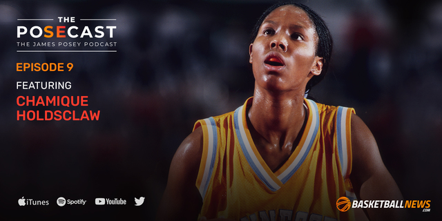 The Posecast: Chamique Holdsclaw on playing for Pat Summitt, MJ comparisons