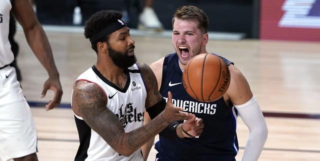 NBA fines Luka Doncic, Marcus Morris