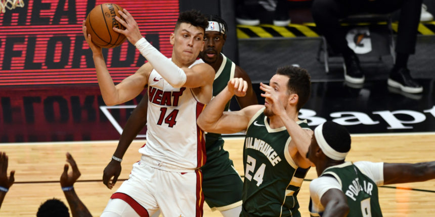 Tyler Herro isn't a point guard, but that's where he belongs for now