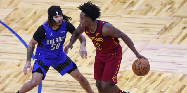 Cavs' Collin Sexton (ankle) will miss first game of NBA career
