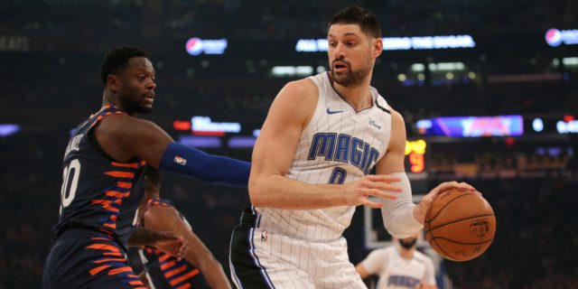 Nikola Vucevic on Magic's hot start, Markelle Fultz's injury, his development