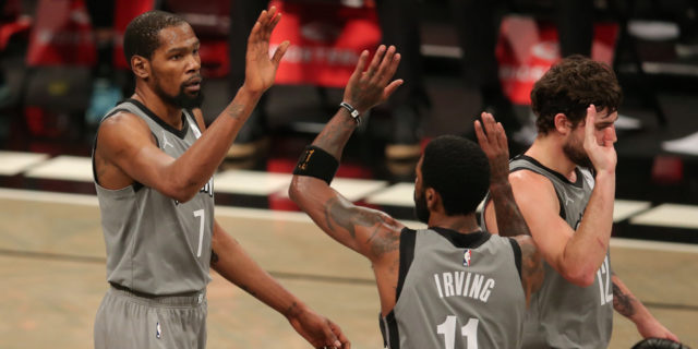 Kevin Durant, Kyrie Irving could return vs. Thunder