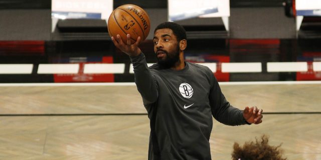 Nets unhappy with Kyrie Irving after absence, maskless party