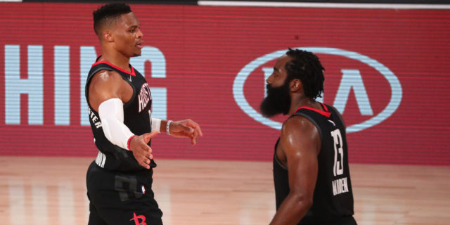Perkins: James Harden's partying led to Russell Westbrook's trade demand