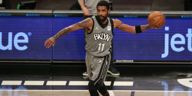 Nets' Kyrie Irving upgraded to 'questionable' for Monday