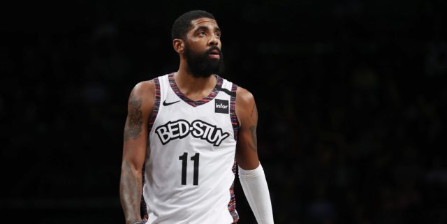 Kyrie Irving to miss Monday's game against Bucks