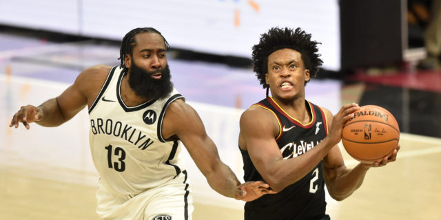 Behind 42 points from Collin Sexton, Cavs stun Nets in 2OT