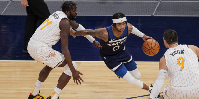 T-Wolves' D'Angelo Russell (rest) out tonight vs. Pelicans