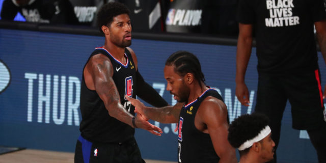 Clips' Leonard, George (health protocols) and Beverley out vs. Hawks