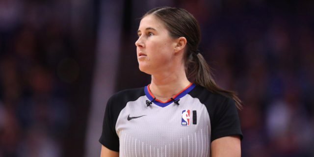 Hornets-Magic make history with first two-woman ref crew