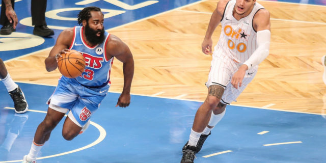 Nets' James Harden (thigh contusion) out vs. Wizards