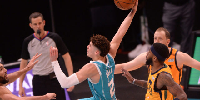 Donovan Mitchell: LaMelo Ball 'the real deal' after 34-point game