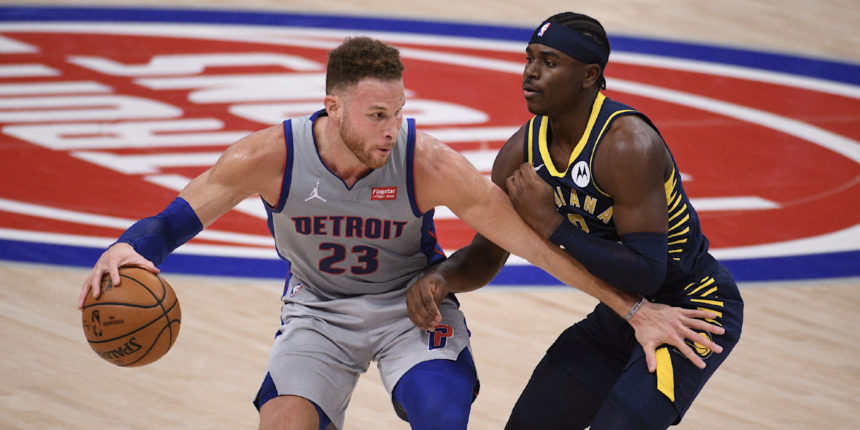 Blake Griffin to be out of lineup as Pistons mull trade options