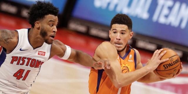 Devin Booker, Saddiq Bey earn NBA Player of the Week honors