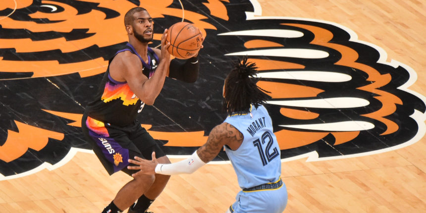 Chris Paul moves to sixth on NBA's all-time assists list in win vs. Grizzlies