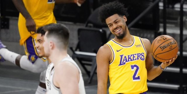 Lakers waive Quinn Cook, ready to play the buyout market