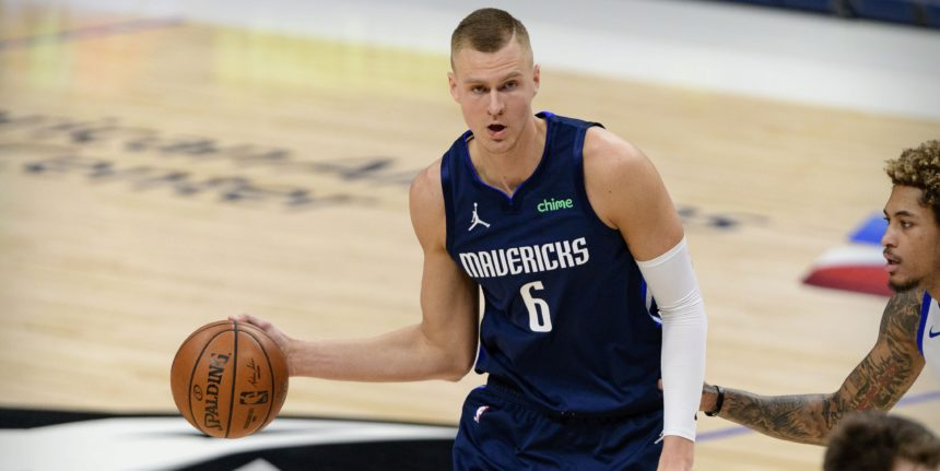 Mavericks have 'quietly gauged the trade market' for Kristaps Porzingis?