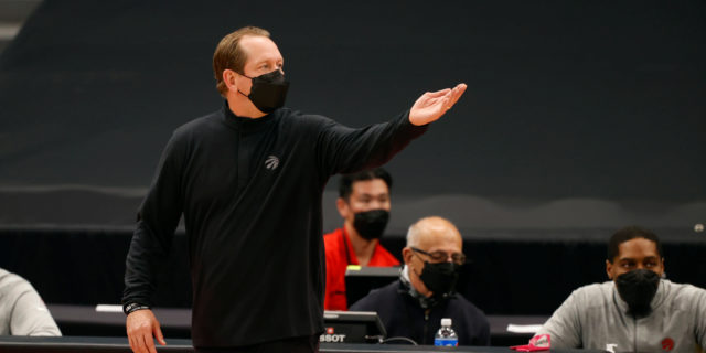 Nick Nurse and other Toronto coaches enter COVID-19 protocol