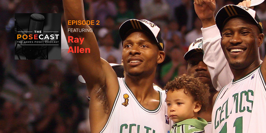 The Posecast: Ray Allen on battling Kobe, today's top shooters and more