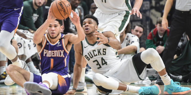 Booker, Antetokounmpo earn NBA Player of the Week honors for Feb. 22-28