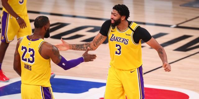 Davis, Lakers take 3-1 lead over Rockets