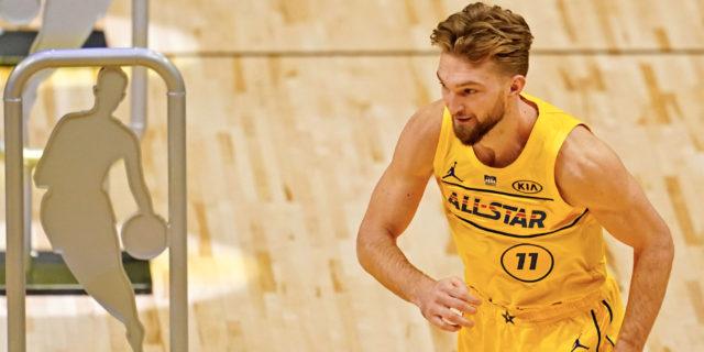 Domantas Sabonis wins NBA All-Star Taco Bell Skills Challenge
