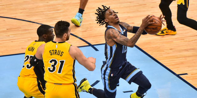 Morant layup with 1.2 seconds left lifts Grizzlies over Heat