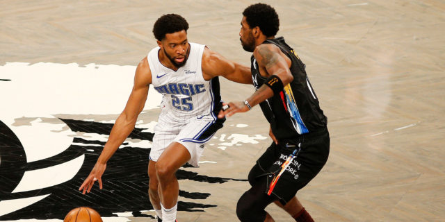 Chasson Randle's life has been '100 miles and running' since joining Magic
