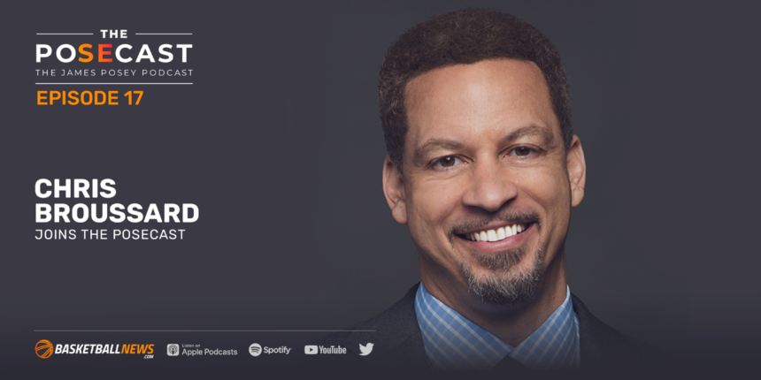 The Posecast: Chris Broussard on his journey from D-III athlete to NBA journalist