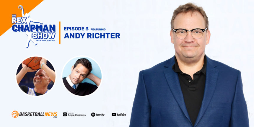 The Rex Chapman Show: Zion Williamson discussion and an interview with Andy Richter