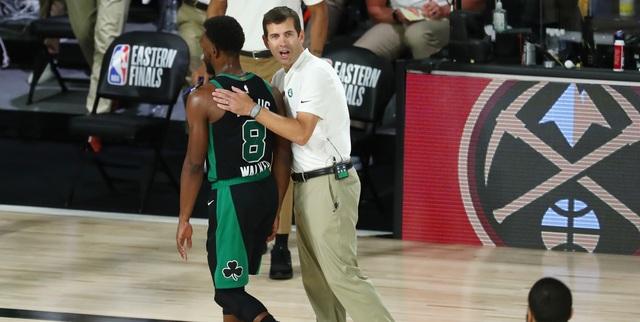 Stevens met with Celtics' leaders after spat