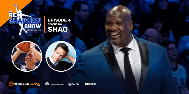 The Rex Chapman Show: Shaq on secret Kobe told him, NBA fighters, today's bigs